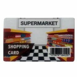 Supermarket Shopping Card