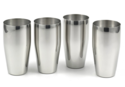 Silver Queen Stainless Steel Glasses, Size: 6