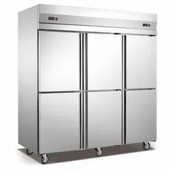 Stainless Steel 2 Star Six Door Refrigerator, 6 Door