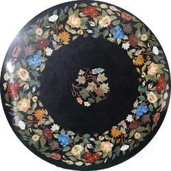 Handmade Pietre Dure Rectangular Marble Inlay Table Tops