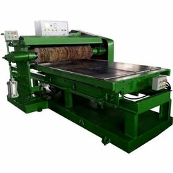 Semi Automatic SS Sheet Polishing Machine, Pneumatic, Production Capacity: 6-10 ton/day