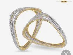 Ladies Diamond Bangles