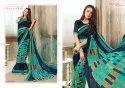 Vallabhi Prints Kangana Vol 2 Casual Wear Weightless Printed Saree Collection