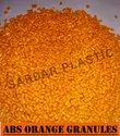 Abs Orange Plastic Granules, For Injection Molding Applications, Packaging Size: 25 Kg