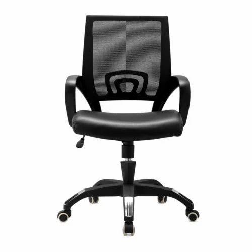 Ordinaire United Furniture Black Net Chair