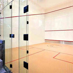 Synthetic Training Squash Courts Flooring