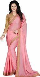 Party Wear Chiffon Saree