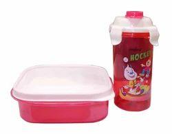 Plastic Kids Cartoon Print Airtight Lunch Box