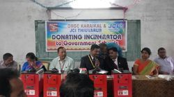 Supplied to JCI Thruvarur for donating to government schools