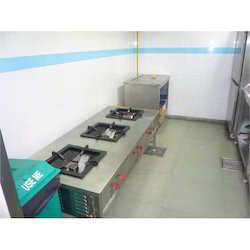 Three Burner SS Commercial Gas Range