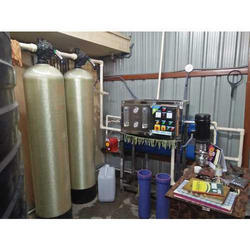 Reverse Osmosis 250 LPH FRP RO Plant, For Water Purification