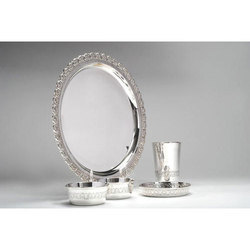 Stylish Silver Dinner Set