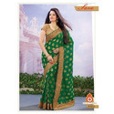 Trendy Embroidery Designer Saree