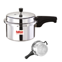 Silver 3 Ltr Induction Pressure Cookers, For Kitchen