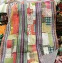 Block Vintage Kantha Quilt