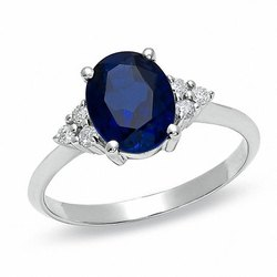 Natural Blue Sapphire Ring ( Neelam)