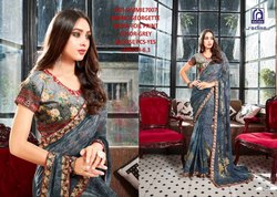Rachna Georgette Simmie Catalog Saree Set For Woman 7