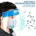 Blends 400 Micron Pet Anti Fog Protective Visor For Eyes Nose And Mouth