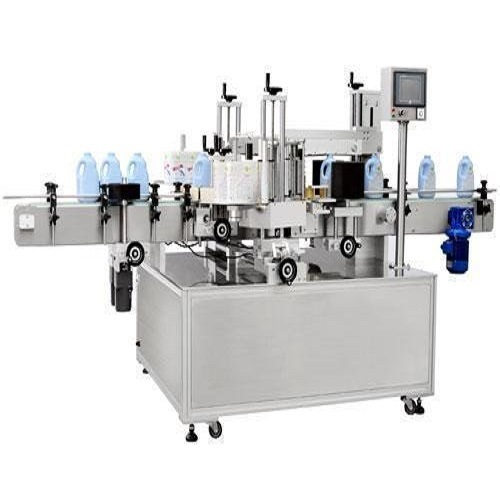 Medipack Automatic Two Side Bottle Sticker Labeling Machine, Capacity: 24000 To 6000 Bph