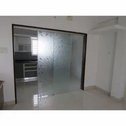 Saint Gobain Sliding Glass Door, For Office, Interior