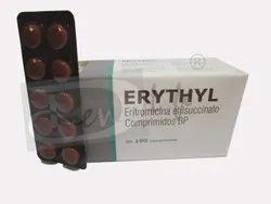 Erythyl Erythromycin Ethyle Succinate 250 Mgtablets
