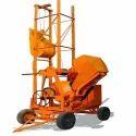 Hydraulic Lifting Concrete Mixture