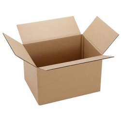 Cardboard Single Wall - 3 Ply CARTON BOX, For Apparel, Box Capacity: 20-30