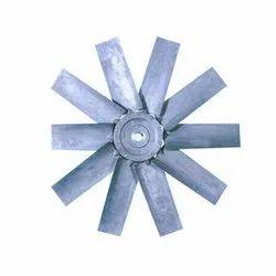 Aluminum Aluminium Axial Flow Fan Blade, Number of Blades: 10
