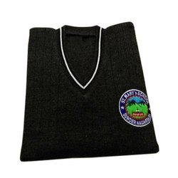 Black Full Sleeve School Uniform Sweater