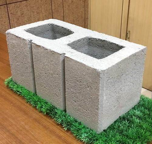 8 inch hollow concrete block