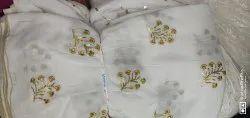 Rayon Printed Dyeable Upada Fabric, For Garments, GSM: 150-200
