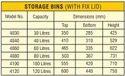 Italica Storage Bin