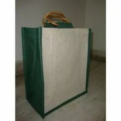 Jute Bag With Dyed All-Round Gusset
