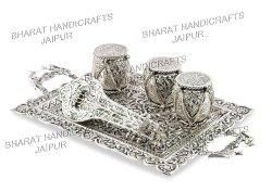 Metal Silver plated Gift Set