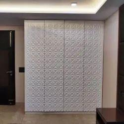 Interior Cupboard 3D MDF Door, 17mm