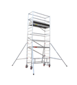 Silver Aluminum Mobile Scaffold Towers