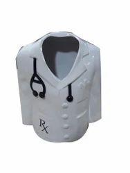 Doctor's Coat Shape Pen Stand
