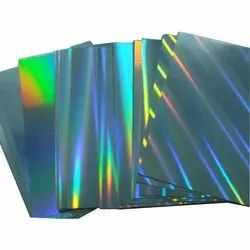 Combination Paper with Holograms