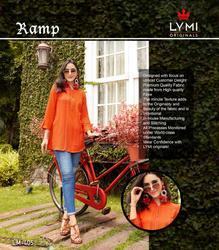 Lymi Ramp Series 401-408 Stylish Party Wear Rayon Kurti
