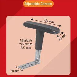 Chrome Adjustable Chair Handle