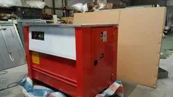 Single 220V Semi Automatic Box Strapping Machine Heavy Duty Taiwan PCB, 220 V, Model: semiautomatic