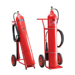 Co2 Gas Type Fire Extinguisher Refilling 22.5 Kg Capacity