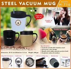 Steel Vacuum Mug H-716