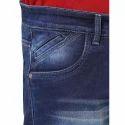 Blue Cotton Mens Jeans