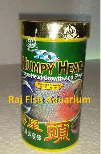 Premium Proven Flowerhorn Food For Head Growth Xo Humpy Head 100g