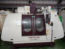 Used & Old Machine   - Chevalier Model:2552 Vmc-l Vertical Machine Center Available In Warehouse