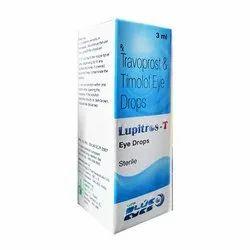 Travoprost & Timolo Eye Drops