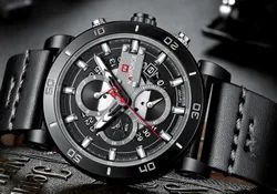 NAVIFORCE Men Watch Top Brand Luxury Military Army Wristwatch Leather NF9131/Available in 5 colors