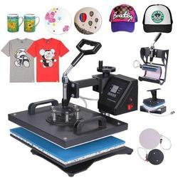 Heat Press Machine - 5 in 1 Combo