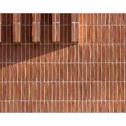 MGB Brown Machine Made Designer Building Bricks, Size: 150x25x20 mm